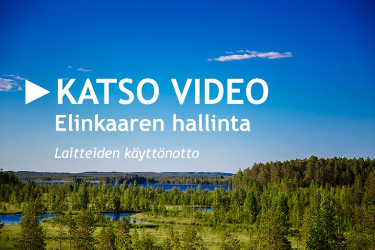 Elinkaaren hallinta - laitteiden käyttöönotto: video
